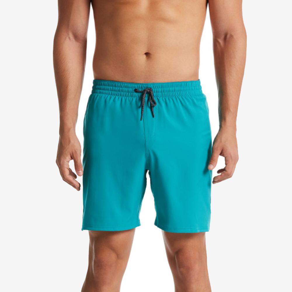 NIKE SOLID VITAL 成人男性7吋海灘褲 NESS9430