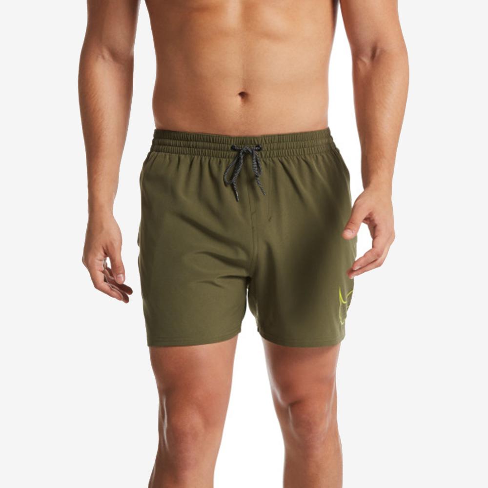 NIKE PERFORATED SWOOSH 成人男性5吋海灘褲 NESS9489