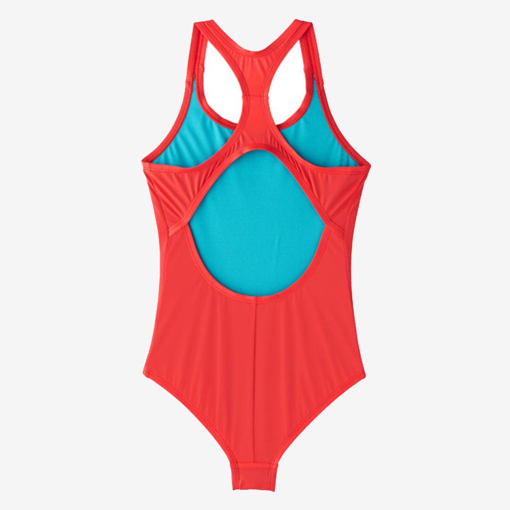 NIKE SOLID RACERBACK 女孩連身泳裝 NESS9600