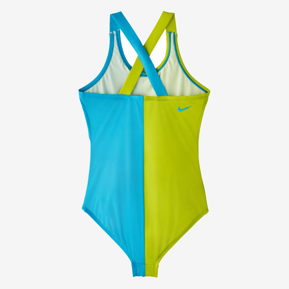 NIKE RIFT PRISM CROSSBACK 女孩連身泳裝 NESS9602